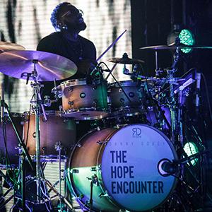 Risen-Drums-Danny-Gokey-Drummer-Bernard-Bell